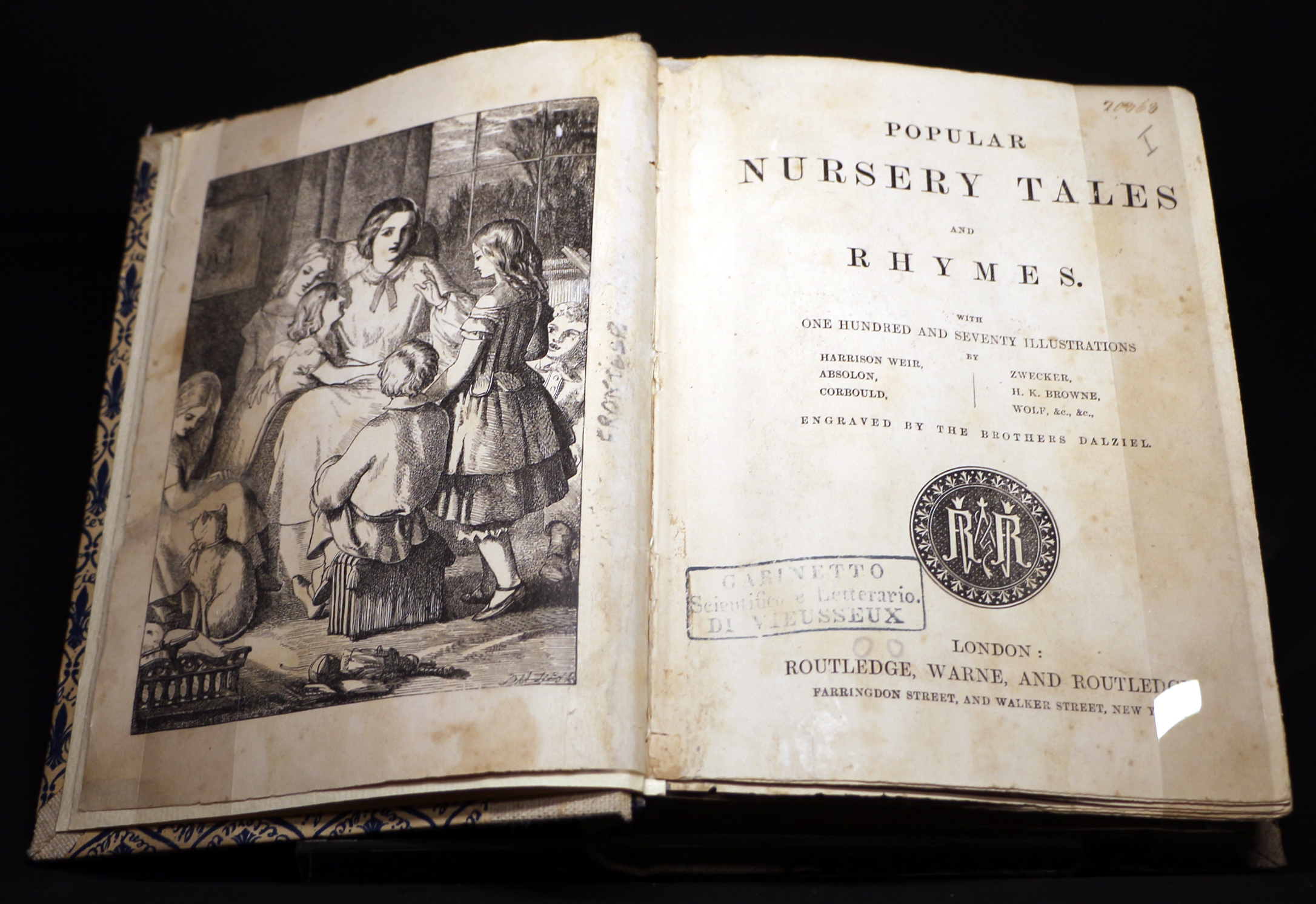 Popular nursery tales and rhymes