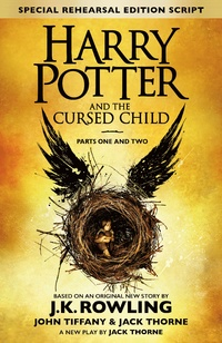 Harry Potter and the Cursed Child Bokomslag