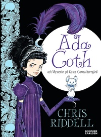 Ada Goth och mysteriet på Gasta-Gorma herrgård (Goth Girl and the Ghost of a Mouse) Bokomslag